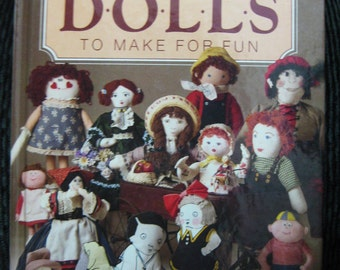 1984 Book Cherished Dolls To Make For Fun-Better Homes and Gardens