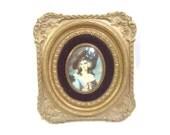Ornate Decretive Picture of Lady Sheffield by Thomas Gansborough