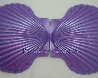 Custom Mermaid Seashell Bra any color MADE TO ORDER