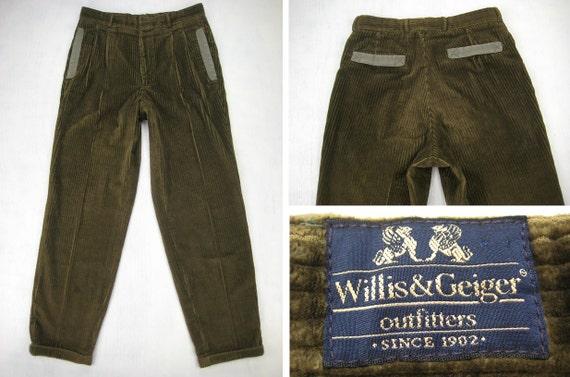 corduroy work pants - Pi Pants