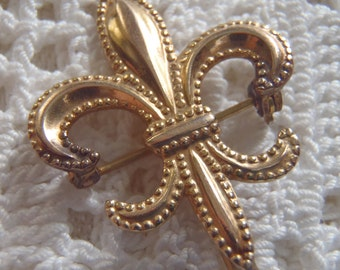 Vintage Watch Pin 12K Gold Filled