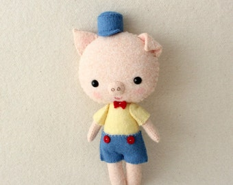 Pocket Piggy pdf Pattern - Instant Download