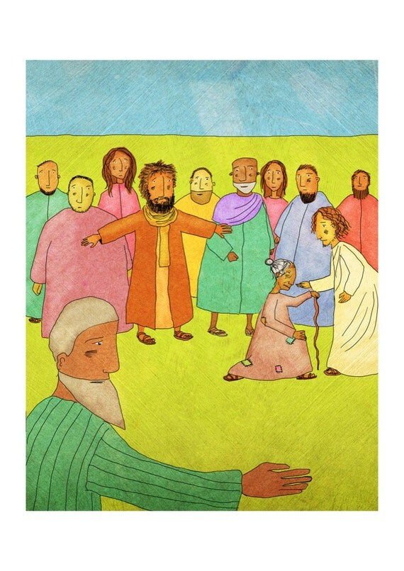 The Jesus Storybook Bible - Signed Print (Page 218 - 219)