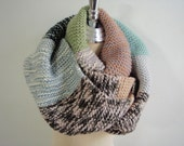 Colorful Sweety Knitted Cowl Scarf