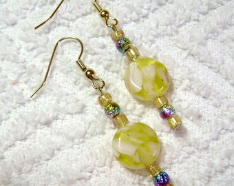 Lemon Yellow Passion Earrings - Earrings - Yellow - Lemon Yellow - Jewelry - E-26