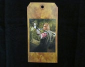 Bookmark of Boromir from the Lord of the Rings