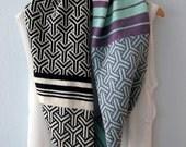 Fashion Infinity Scarf/ Snood Geometric Knitted- Multi Ghucci - Knit Mystique by Paula Ibanez