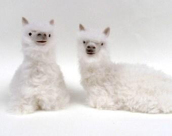 Colin's Creatures Handmade Alpaca Figurines, Coosh