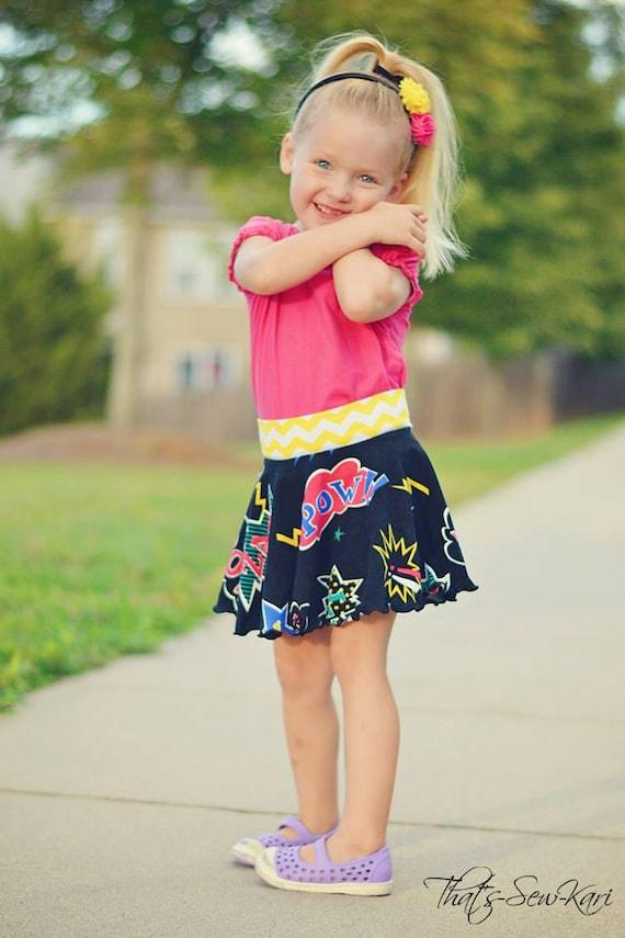 Jersey Knit Skirt Pattern : Knit Circle Skirt Sewing Pattern Take 5 Easy Skirt Pattern