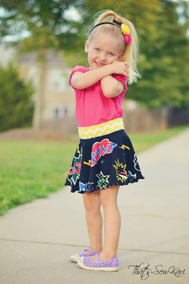 Knit Circle Skirt Sewing Pattern Take 5 Easy Skirt Pattern