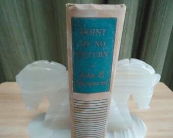 Vintage Point Of No Return by John P. Marquand