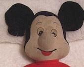 Mickey Mouse Knickerbocker Plush Doll