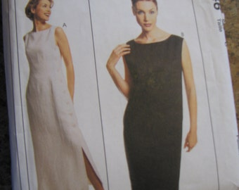 Summer Dress Pattern Lida Baday From 1996 McCalls 8246