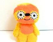 Sampson the mini sloth monster