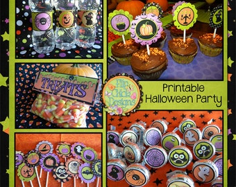 Halloween Printable Party Pack
