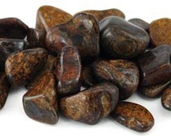 1lb Axinite Tumbled Stones, energy healing, jewelry making