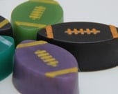 Number 1 Fan Football Glycerin Soap for Birthdays, Tailgating, Party Favors and Groomsmen Favors