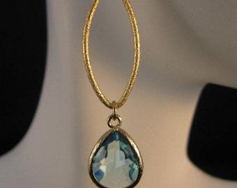 Gold Marquise Hoop Earrings, gold earrings, bezel earrings, hoop earrings, drop earrings, dangle earrings,crystal earrings,marquise earrings
