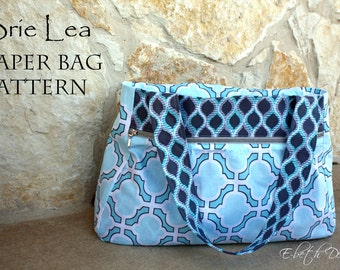 BRIE LEA Diaper Bag PDF Pattern
