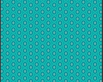 Art Gallery's Oval Elements (Blue Lagoon) 1 yard