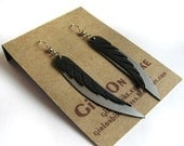 SALE Glean - Recycled Bike Tube Earrings