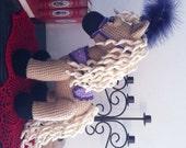 Sandy the Little Pony Crochet Pattern