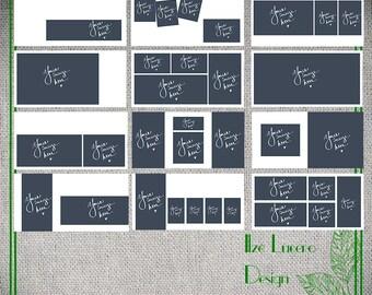 10x10 WHCC Photo Album Tempaltes ... Simple White