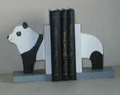 Panda Bookends