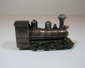 Vintage Metal Train Engine Pencil Sharpener