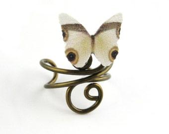 Bohemian Jewelry - Boho Ear Cuff - Woodland Elf Earcuff - Woodland Earrings