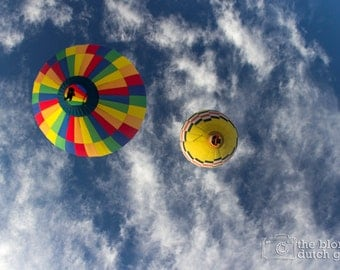 It's a Happy, Hot Air Balloon Morning (photograph, various sizes)