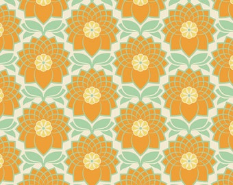 Joel Dewberry Heirloom- JD51 Chrysanthemum Jade