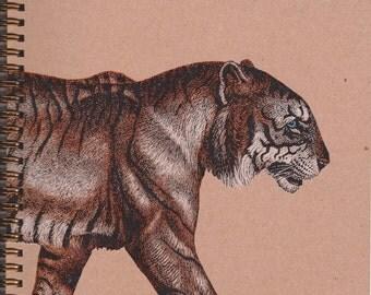 Tiger Sketchbook (Blank Book)