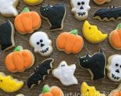 3 Dozen Mini Halloween Sugar Cookies