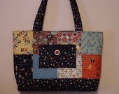 Animal Lover Purse Dog Cat Pet Lover Quilted  Purse, Tote Bag, Computer Bag New  by Quilted Creations By Me