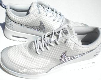 Nike Air Max Thea Schwarz Glitzer