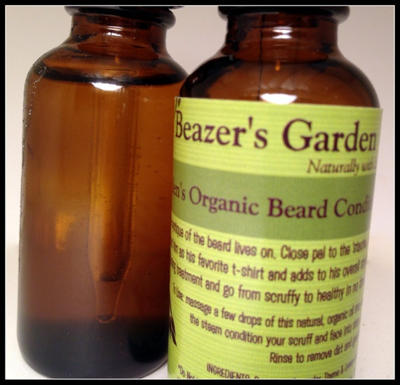 Beard & Scalp Conditioning Oil - Mens Organic Skincare - Gifts for Men - Gifts for Dad - Birthday - Wedding - For Him - Fathers Day gift