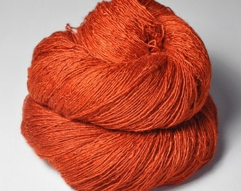 Red-hot metal - Tussah Silk Lace Yarn