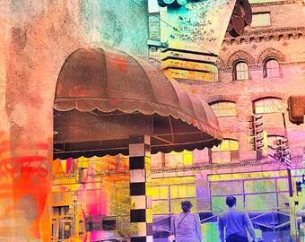 JD Hoyts art, digital photo art, Minneapolis, Minnesota, colorful, urban,  Abstract Art, wall art, home decor, office, kitchen, bathroom art