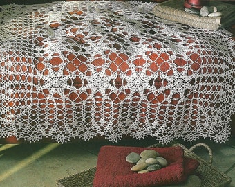 Crochet Table Runner - Holiday