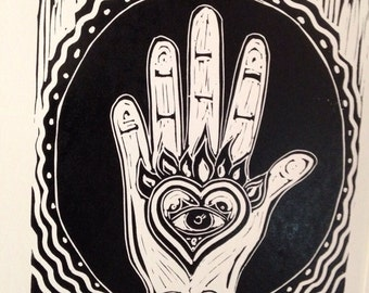 Heart in Hand, Artwork- may your work be from the heart