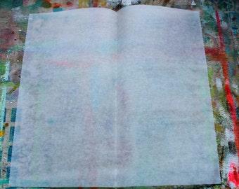 Deli Paper 60 Sheets - for Gelli Plate Printing & Art Journaling Premium Heavyweight Dry Wax