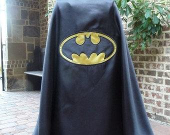 Batman Cape - Traditional Colors