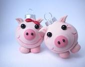 Pig Mini Ornaments