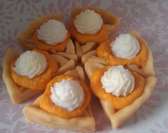 Pie Slice Tart Melts with filling