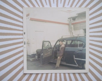 Hot Rod - vintage 1960s Colored Photograph, photo, picture, snapshot - classic car, automobile, auto - ready to frame