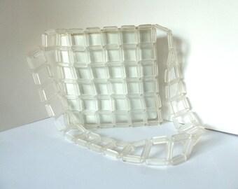 Plastic Sabina Square Purse