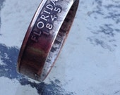 2004 Florida State Quarter Coin Ring  U pick size Jewelry by Custom Coin Rings