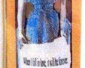 Bookmark.  Laminated. Jane Austen.