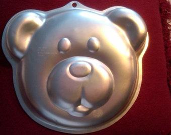 Wilton Super Mario Bros Cake Pan Mold Tin Worldwide Shipping